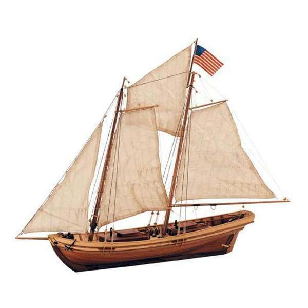 artesania latina 22110 Pilot Boat Swift El Swift fue a principios de siglo XIX un Pilot Boat del estado americano de Virginia. Sus características técnicas hicieron que las principales potencias navale de la época agrandasen estos barcos creando así los famosos Baltimor Clippers.